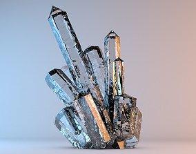 3D model Beautiful Mineral Crystals 1