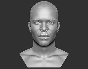 TI rapper bust 3D printing ready stl obj formats
