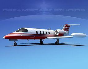 3D model Gates Bombardier Learjet 35 V03