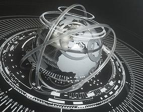 animated Globe 3D animation set