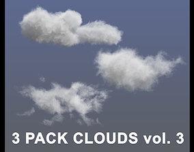 Clouds - 3 PACK - vol3 3D