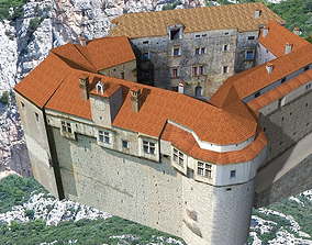 istra 3D model Castle