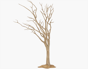 3D model Bare Halloween Tree