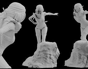 Zelda Sheik Heroic Statue 3D print Model digital 1