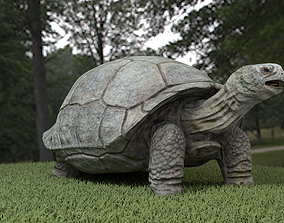 3D model Galapagos Tortoise