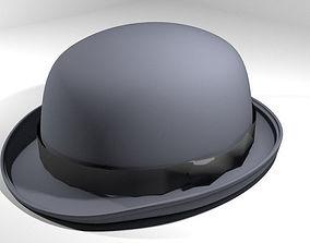 Hat - Bowler 3D