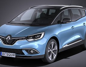 Renault Grand Scenic 2017 3D