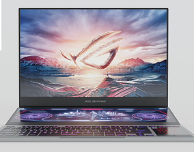 3D model ASUS ROG Zephyrus Duo 15 Laptop Notebook