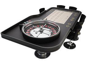 3D Roulette Table