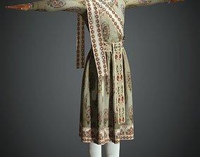 3D asset Indian King Cloth ware