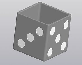 3D print model Flowerpot Dice