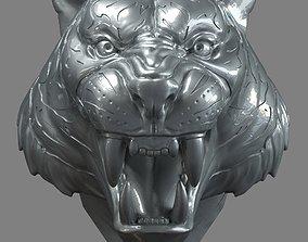 3D printable model Tiger Head Number01