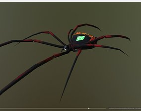 Black Widow Emerald Spider 3D model