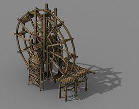 Tang New Village - water windmill 3D