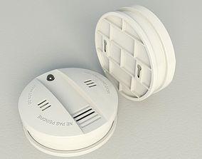 3D model Smoke alarm Flammex