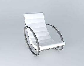 Rocking Chair Freud houses the world 3D