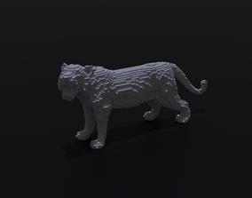 Voxel Tiger 3D print model