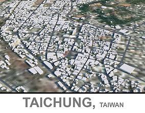 Taichung in Taiwan 3D model