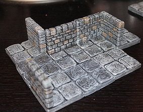 3D printable model OpenForge Stone Dungeon Walls
