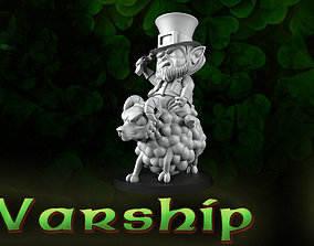 Warship leprechaun 3D print model