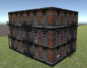 3D model building ancient