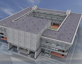 3D asset Russian City Hall