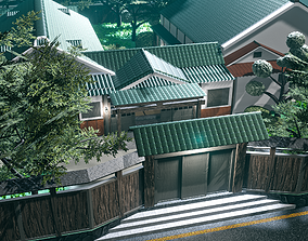 3D model Kawai-Sou Complex Japanese Mansion