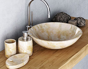 Washbasin marble mini 3D model