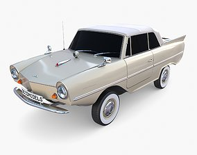 Amphicar 770 Cream Top Up 3D