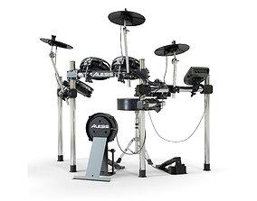 3D model Electronic drum set ALESIS surge mesh kit