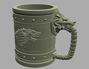 3D printable model House Stark Jar