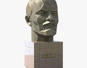 3D asset Lenin Monument