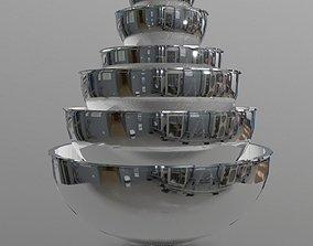 Mixing Bowls 3D asset