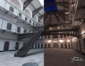 3D Prison 01 day and night