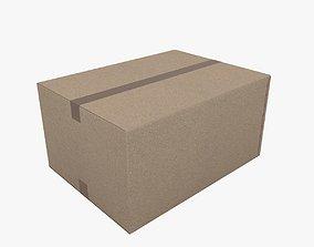 3D model cardboard Cardboard box