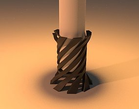 candle 3D print model Candle Holder