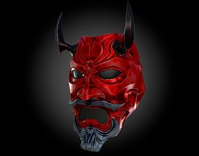 Uncle Oni Mask 3D print model