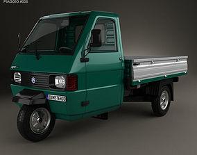 3D Piaggio Ape TM Pickup 1982