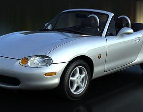 Mazda Miata MX-5 NB V-Ray 3D model