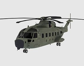 Helicopter 3 3D model