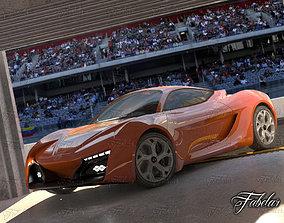Hyunday Passocorto Garage 3D model