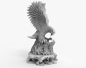 3D printable model Hawk Eagle Hunting Snake
