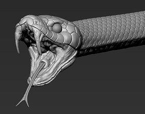 3D Snake highpoly