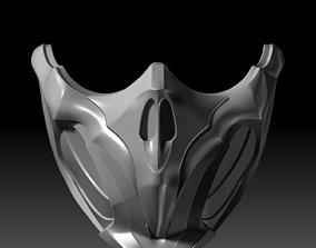 Scorpion Mask Mortal Kombat 11 3D printable