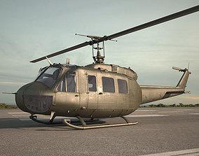 Bell UH-1 Iroquois 3D model