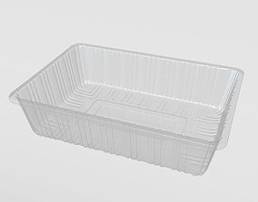 3D model Transparent Plastic Food Container other