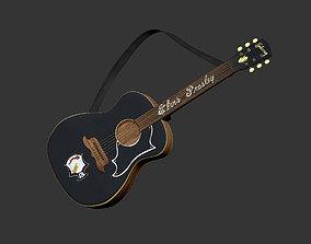 Elvis Presley Guitars 3D model