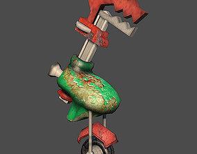 3D model Wheeled robot