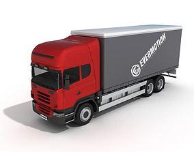 3D model Industrial Truck