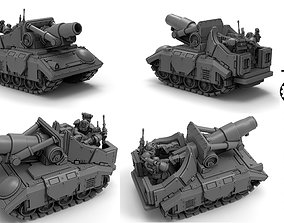 3D print model Tempest Lords - Fulgarine Self Propelled 1